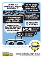 campagne sécurité routière passe le volant